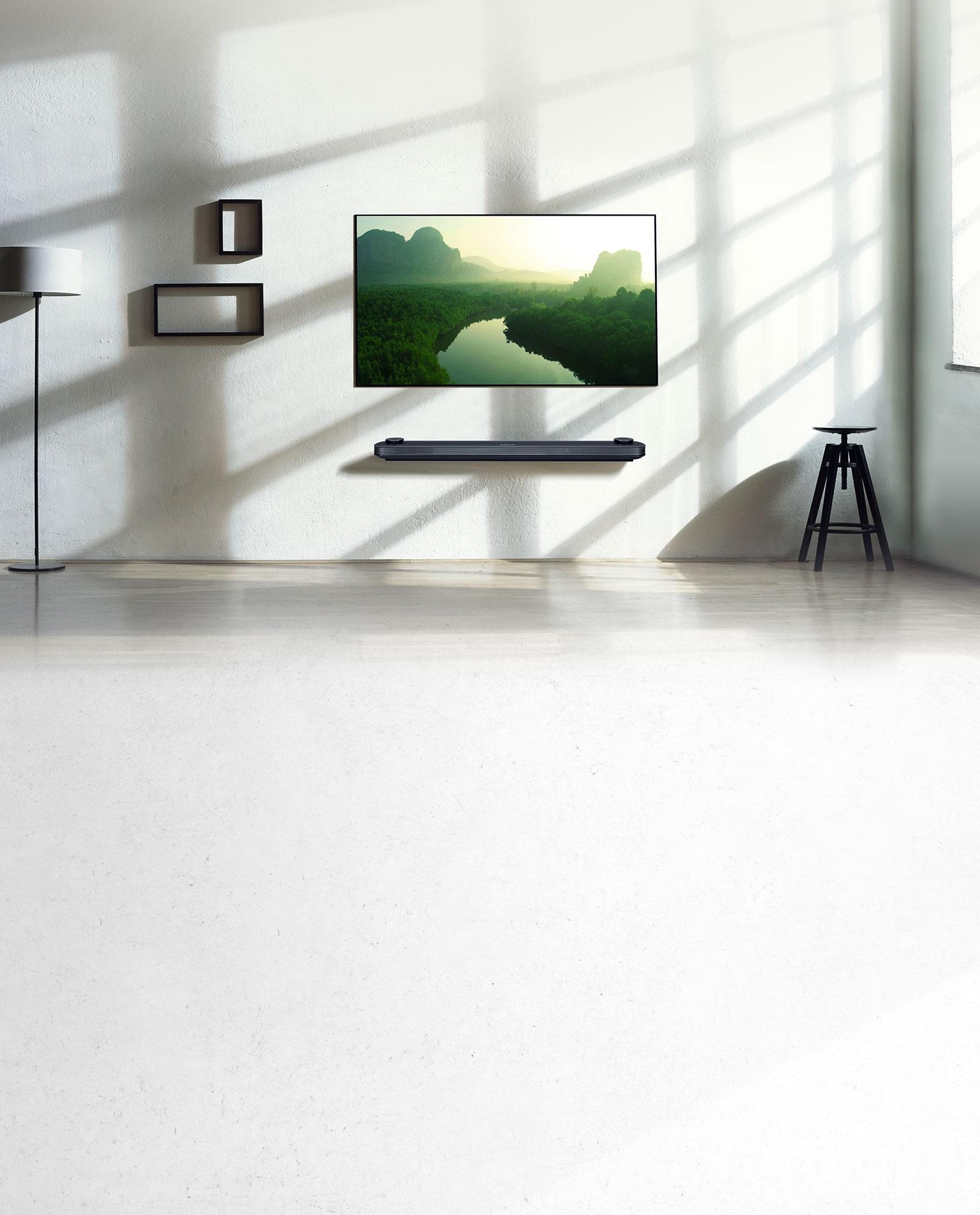 OLED TV นำเสนอดีไซน์ทีวีบางเฉียบแบบใหม่