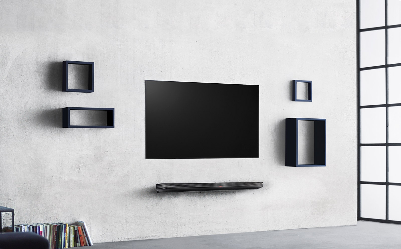 One with your wall OLED TV