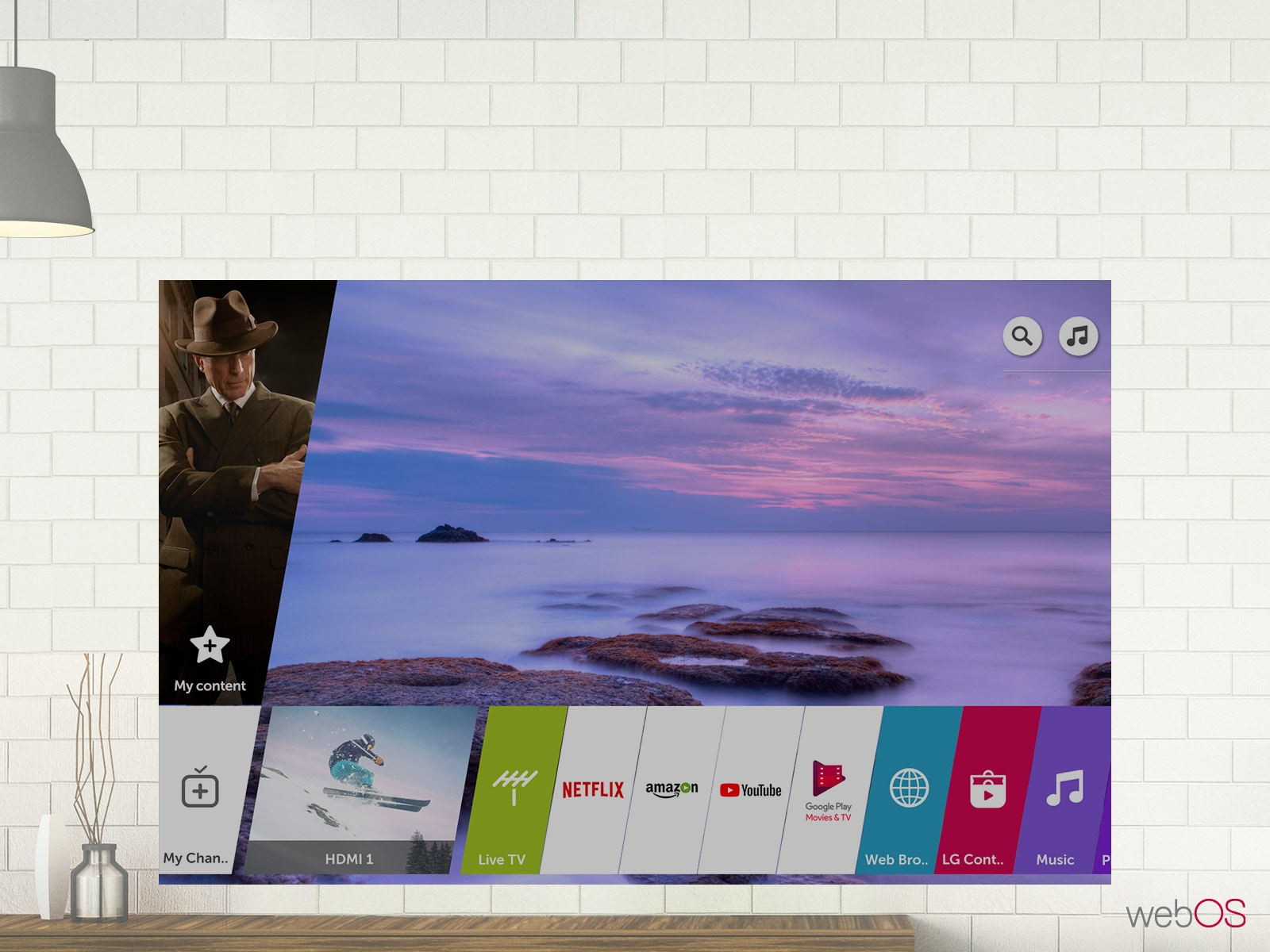 ThinQ AI หา Content ง่ายๆภายใต้ UHD TV
