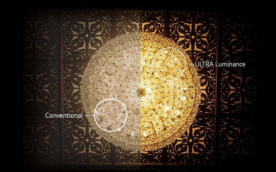 Ultra Luminance : ช่วยเพิ่มความสว่างของภาพ จึงแสดงภาพได้คมชัดขึ้น