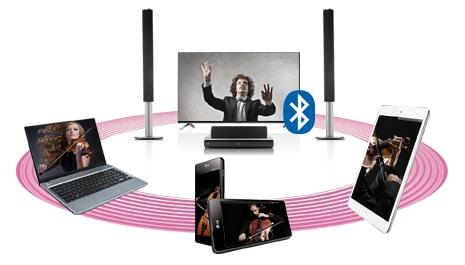 Wireless Audio Streaming via Bluetooth™