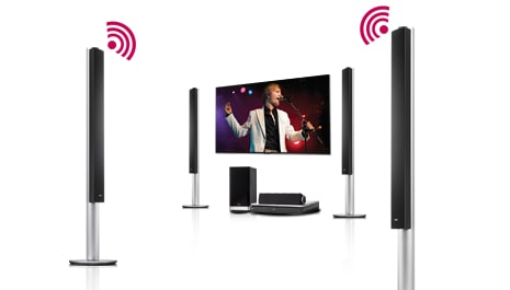 Wireless Rear Speakers