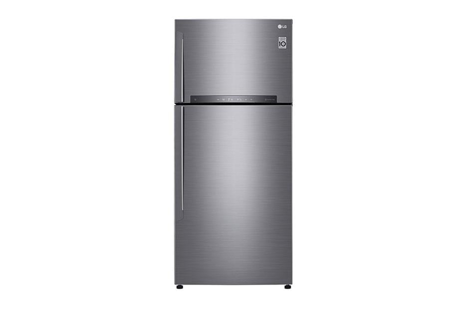 LG Réfrigérateur 2 portes   LINEAR Cooling™   DoorCooling+™   Compresseur linéaire Inverter   HygieneFresh+™   Smart ThinQ™, GN-H702HLHU