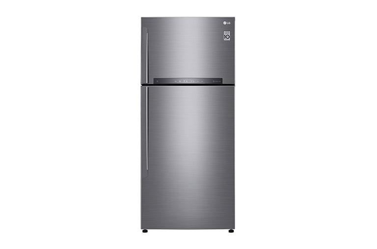 LG Réfrigérateur 2 portes   LINEAR Cooling™   DoorCooling+™   Compresseur linéaire Inverter   HygieneFresh+™   Smart ThinQ™, GN-H702HLHU, thumbnail 2