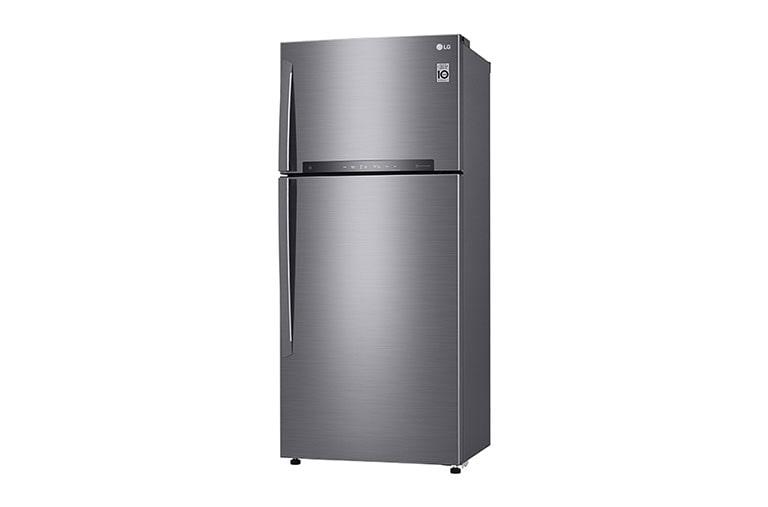 LG Réfrigérateur 2 portes   LINEAR Cooling™   DoorCooling+™   Compresseur linéaire Inverter   HygieneFresh+™   Smart ThinQ™, GN-H702HLHU, thumbnail 4