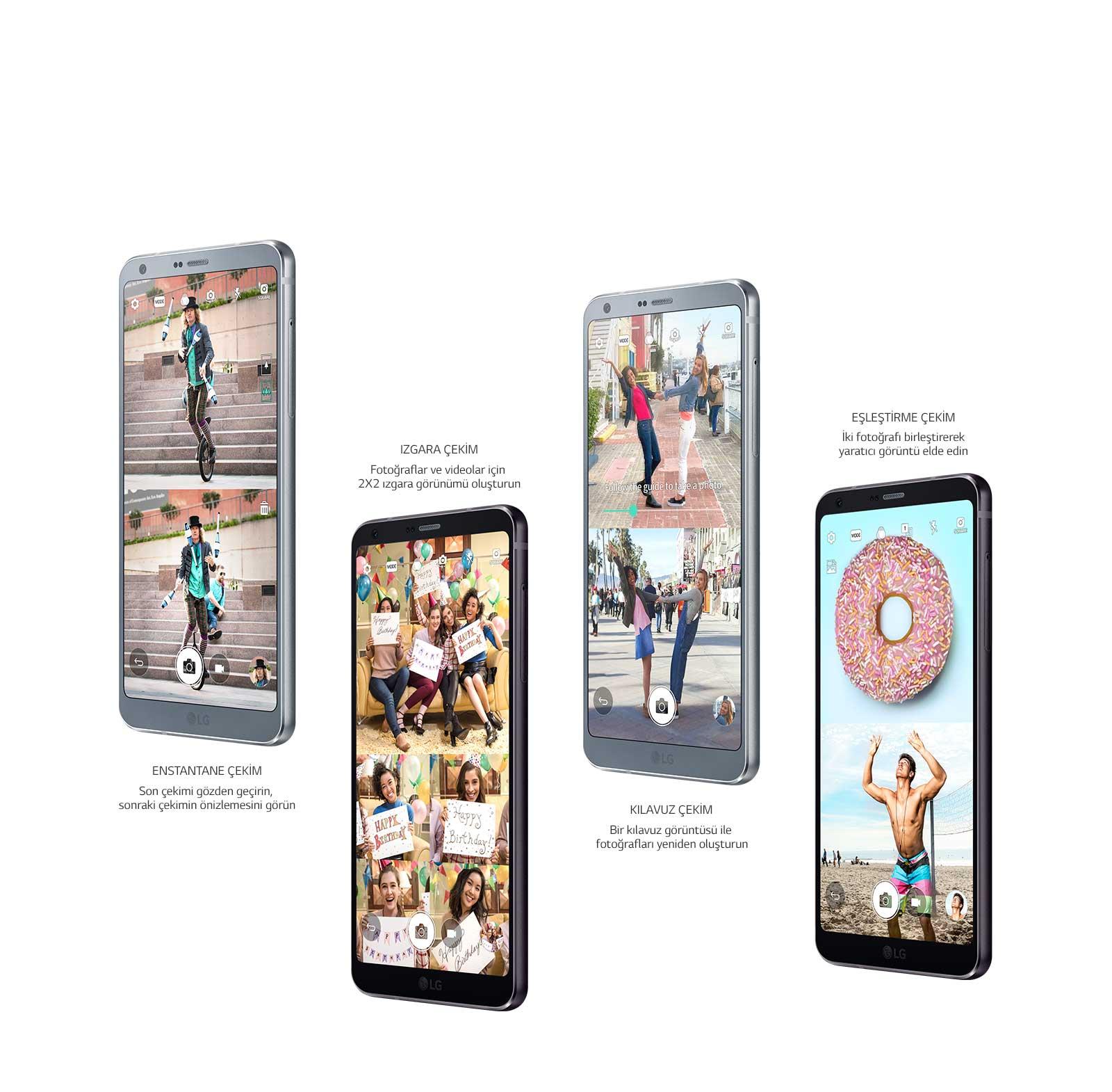 Kare Kamera modu LG G6
