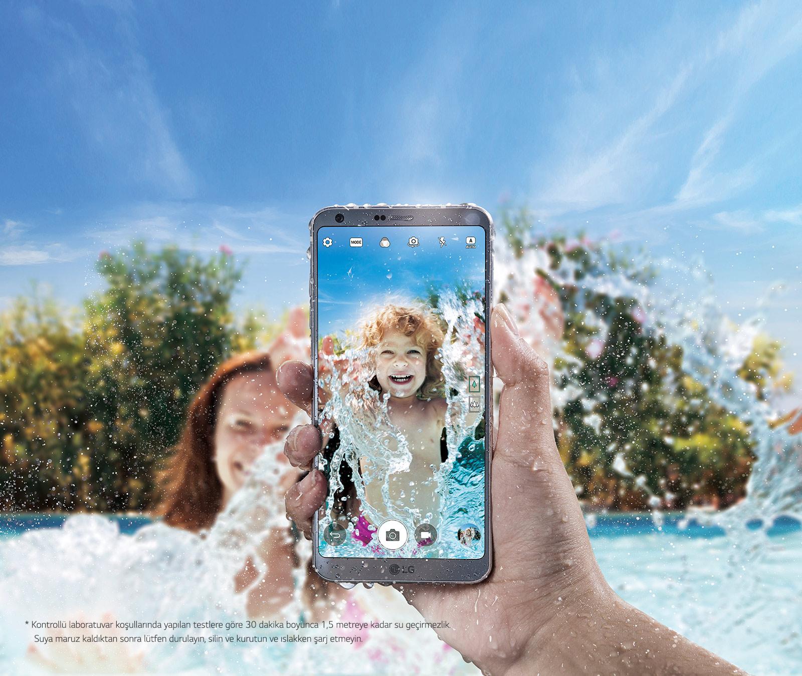 Su ve Toza Dayanıklı LG G6