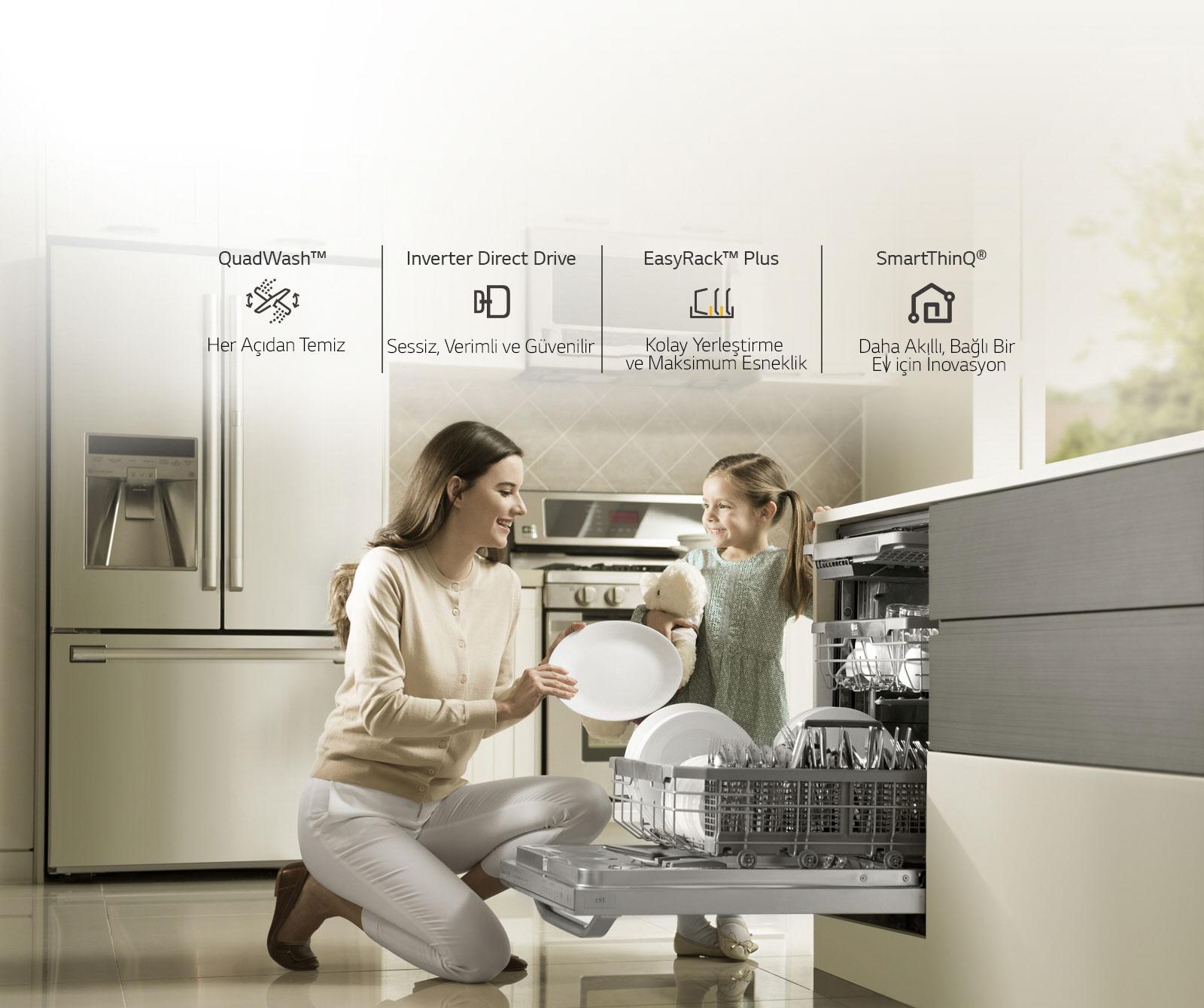 LG Bulaşık Makinesi Satın Almak için 4 Sebep<br>3