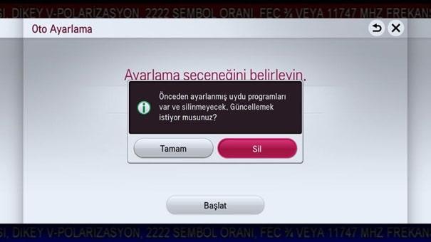19 Türksat Televizyon Radyo Yayın Frekans Değişikliği