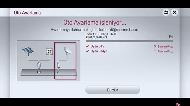 20 Türksat Televizyon Radyo Yayın Frekans Değişikliği