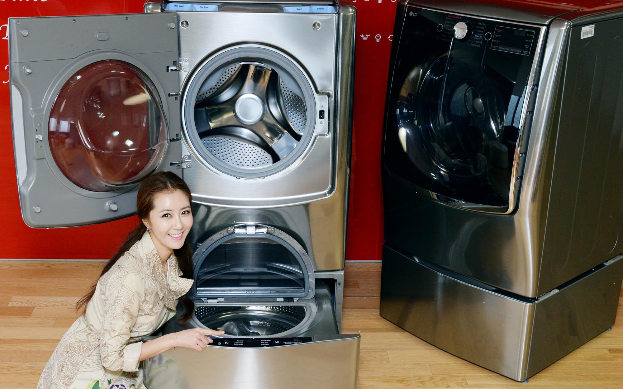 LG çamaşır makineleri Twin Wash™ teknolojisiyle baş döndürüyor