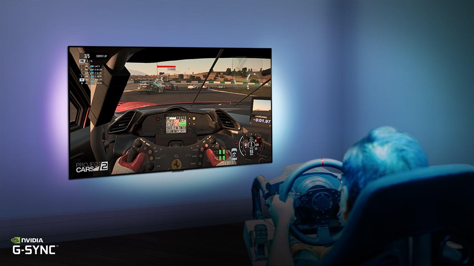 自體發光像素使遊戲反應更快1