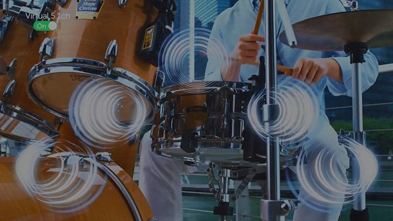 以下為有關人工智慧音效的影片。 按一下「觀看完整影片」按鈕以播放影片。