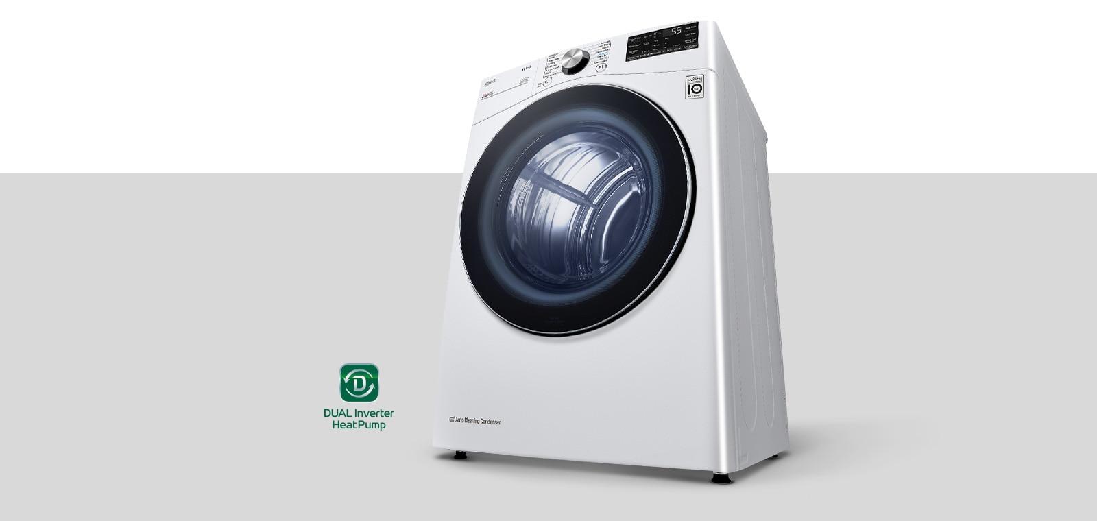雙變頻熱幫浦™ 烘衣機產品圖片,隨附標誌