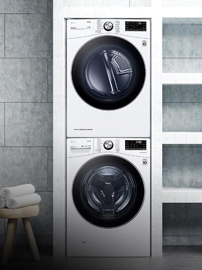特殊安裝:洗衣機和乾衣機