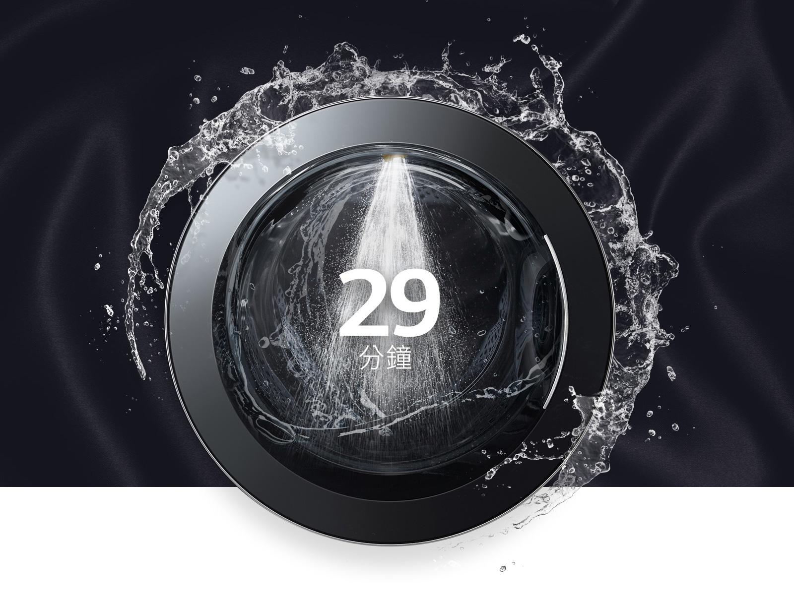 29分鐘內快速洗淨!1