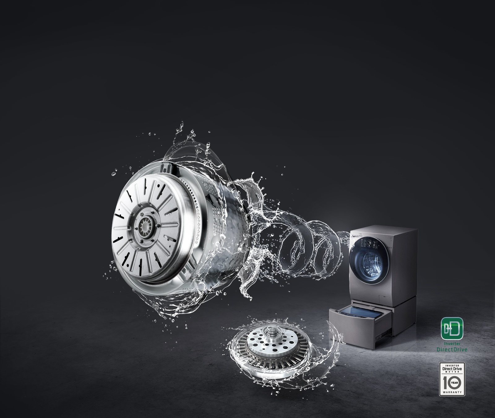 直驅變頻馬達,低震動 低噪音1
