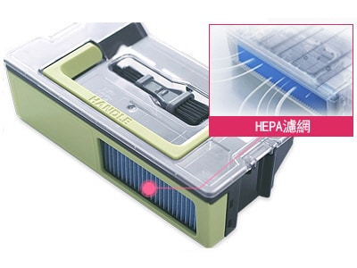 加大HEPA濾網