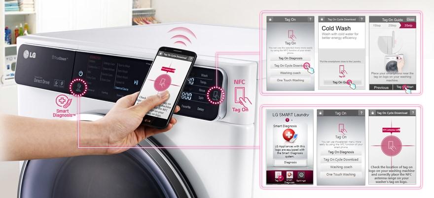 NFC雲端客製洗衣行程 洗衣更聰明