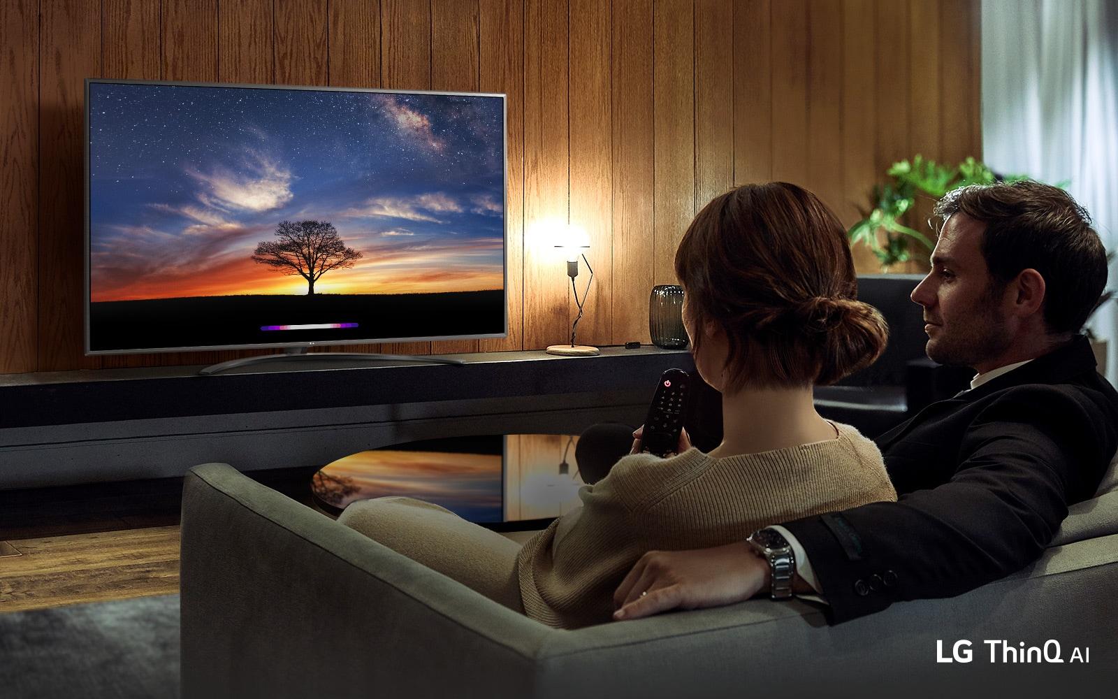 Відкривайте нове з телевізорами LG AI1