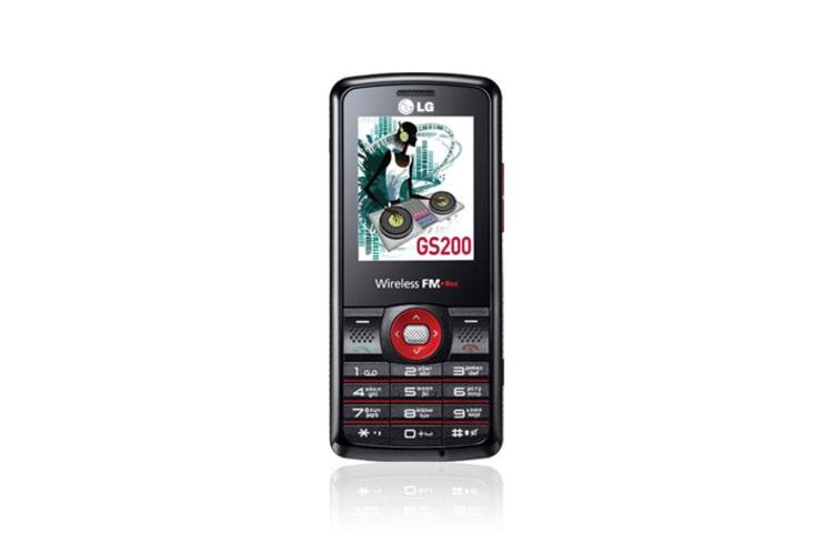 LG Мобільні Телефони Доступна мультимедіа і гучний звук у стильному корпусі  GS200 thumbnail ... 297c59e6bac7f
