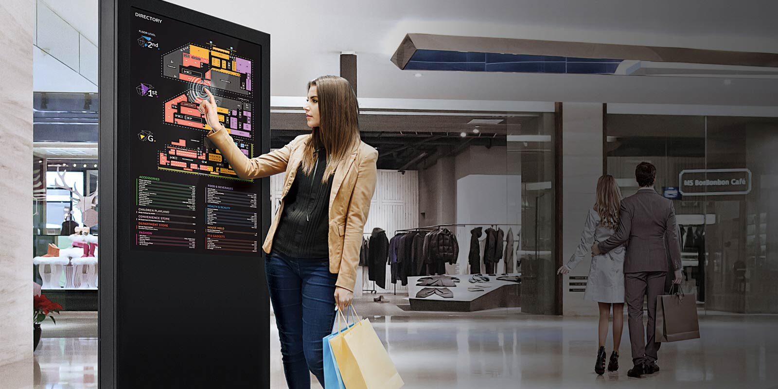 Touch Screen Display Solution Lg Uk Business