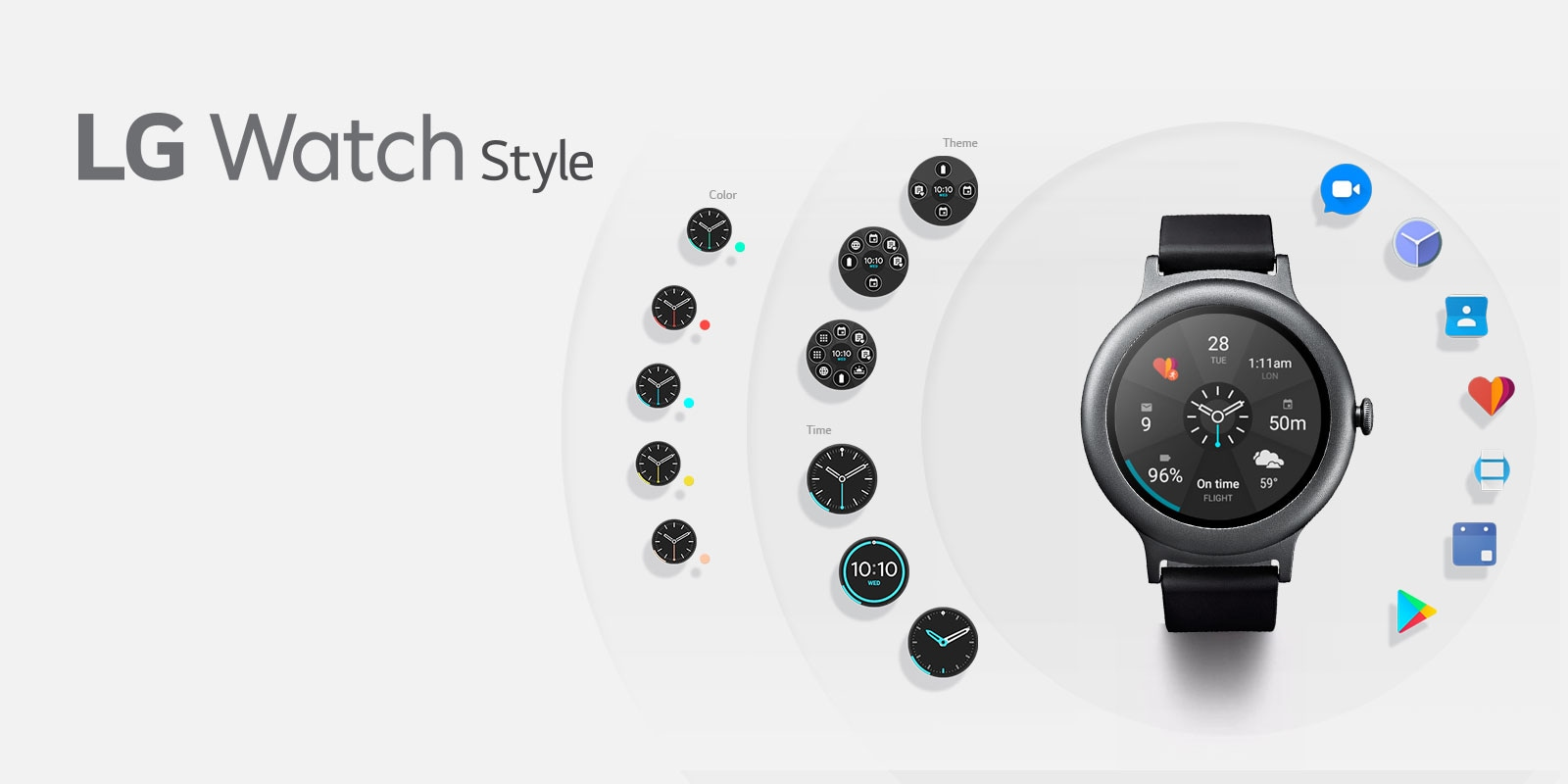 for and ios smart silver watch android watches product wearable