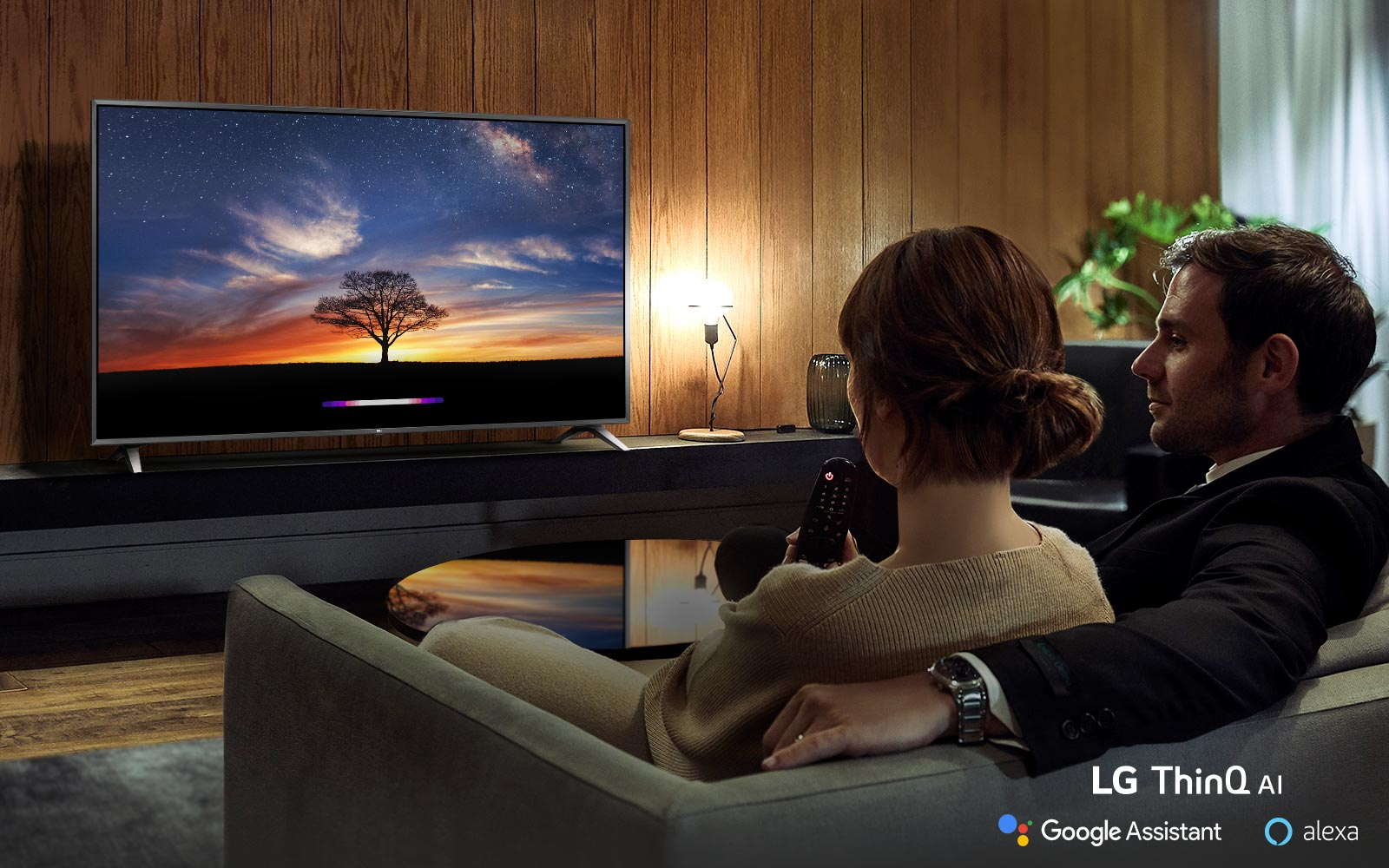 Live in Wonder with LG AI TV<br>1
