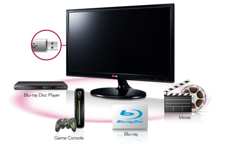 how to use lg smart tv as computer monitor
