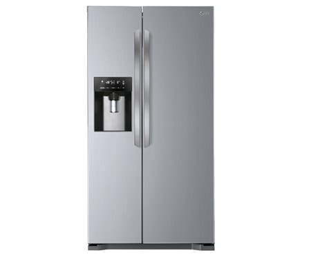 Lg american fridge freezer white
