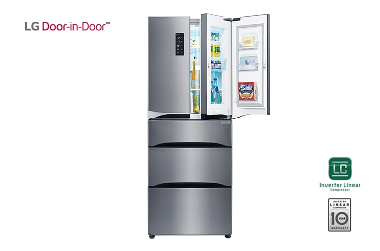 LG Fridge Freezers GM6140PZQV thumbnail 1