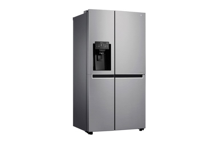 lg gsl760pzxv a energy rated refrigerator with plumbed