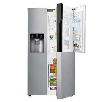 lg american fridges american style refrigerator freezers lg uk. Black Bedroom Furniture Sets. Home Design Ideas