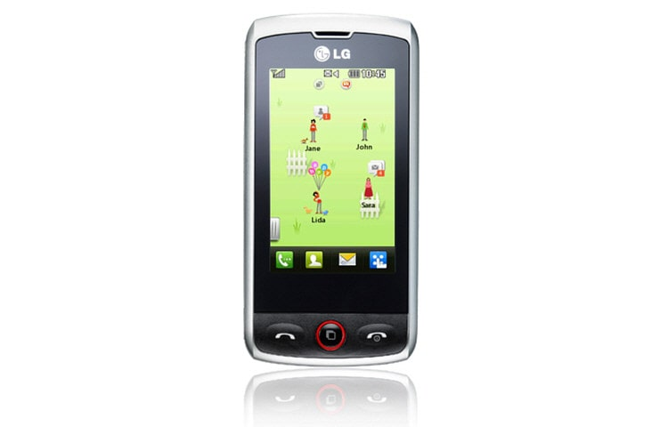LG Mobile Phones Mobile Phone with 3 MP Camera, QWERTY Keyboard, and Social Networking thumbnail 1