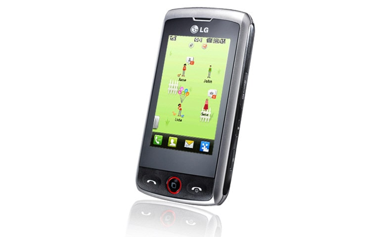 LG Mobile Phones Mobile Phone with 3 MP Camera, QWERTY Keyboard, and Social Networking thumbnail 2