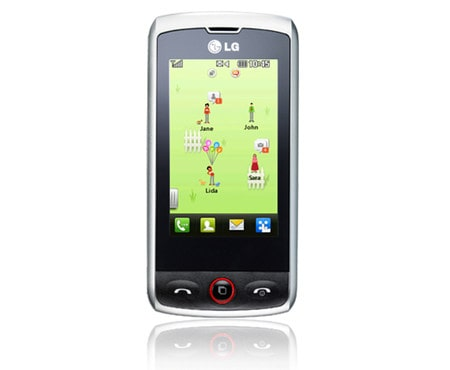 LG Mobile Phones Mobile Phone with 3 MP Camera, QWERTY Keyboard, and Social Networking 1