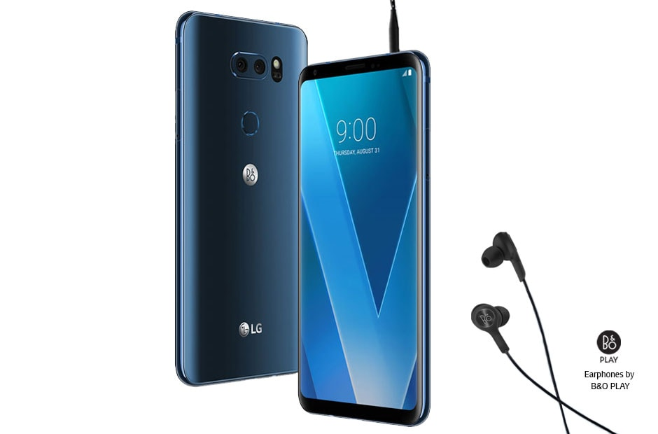 Mobile Phones LG V30 Moroccan Blue 1