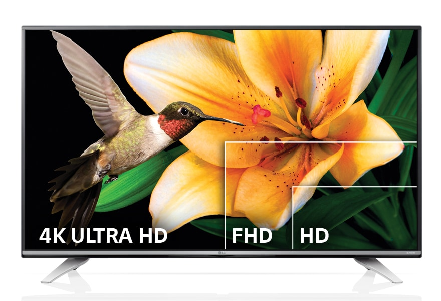 ULTRA HD 4K RESOLUTION