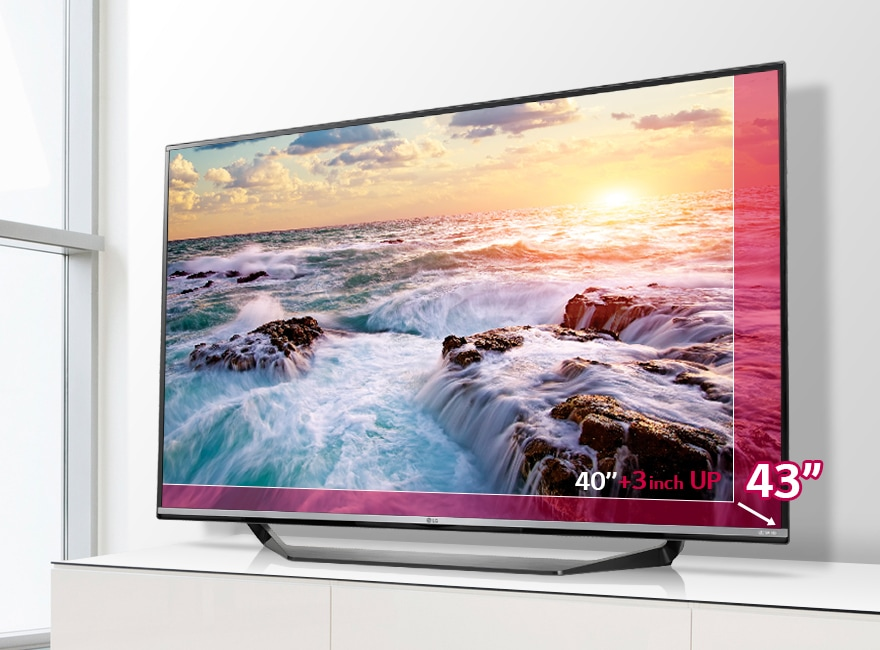 lg 43uf770v televisions 43 ultra hd 4k tv lg. Black Bedroom Furniture Sets. Home Design Ideas