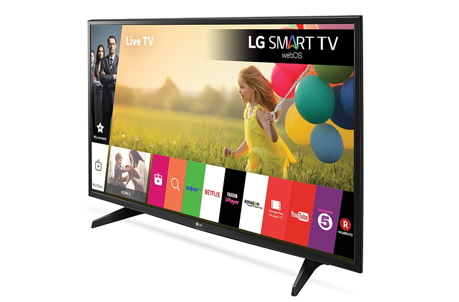 43 inch Smart TV with webOS | LG 43LH590V | LG UK