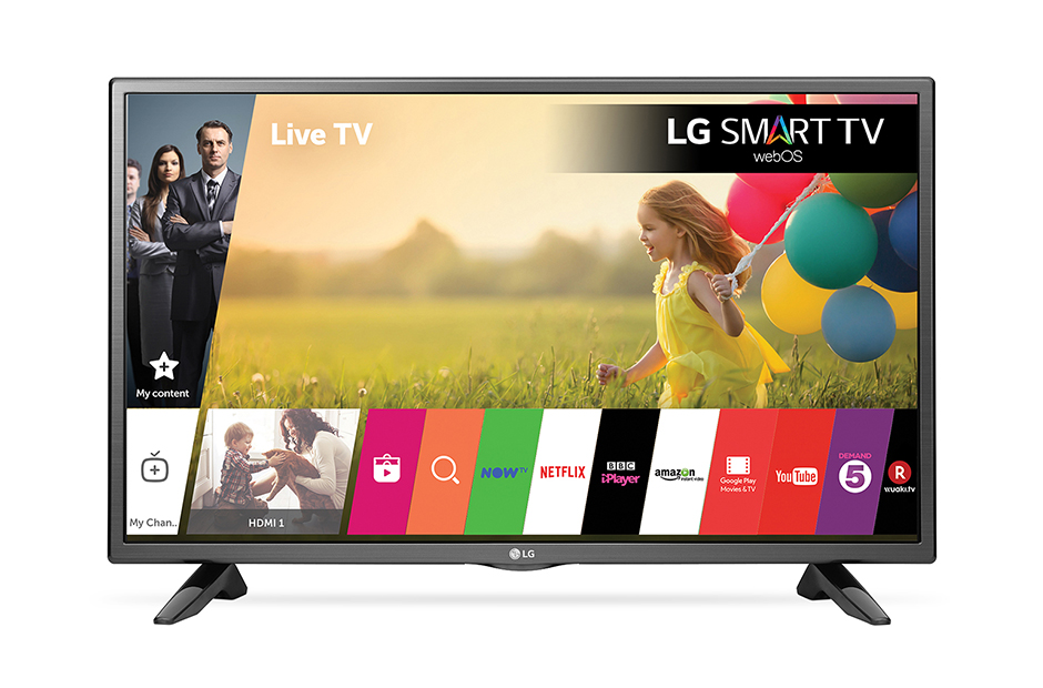 32 inches LG smart tv with remote in perfect working