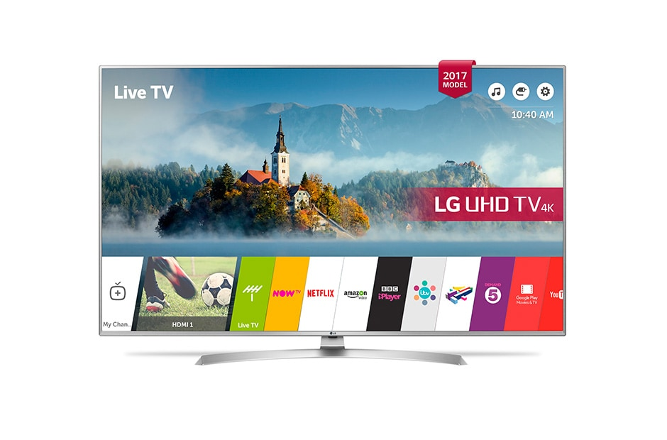 43 inch ULTRA HD 4K TV | LG 43UJ701V | LG UK