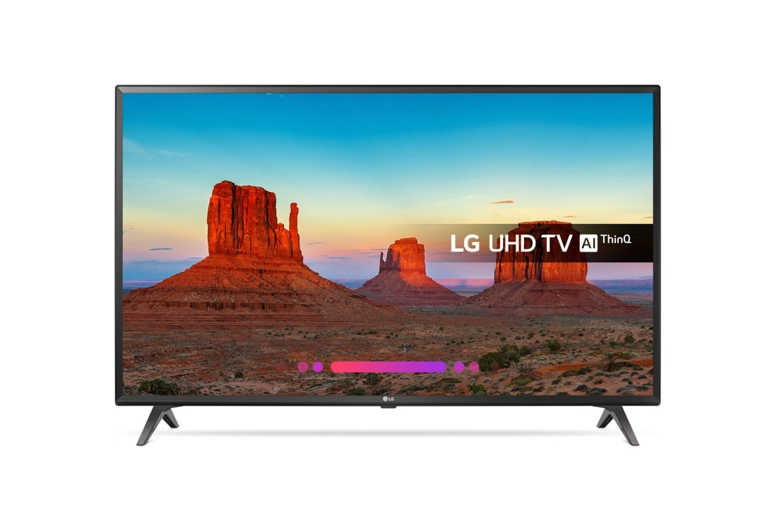 43 inch ULTRA HD 4K TV | 43UK6300PLB | LG UK