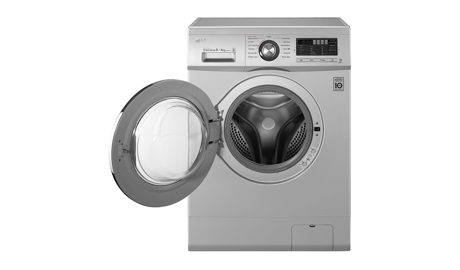LG F1496AD5 Washing Machines - 8kg/4kg 6 Motion Direct Drive Washer Dryer -  LG Electronics UK