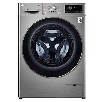 LG Steam™ FWV685SSE 8kg / 5kg, 1400rpm Washer Dryer - Graphite1