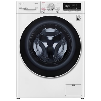 LG AIDD™ FWV585WTSE 8kg / 5kg, 1400rpm Washer Dryer - White1