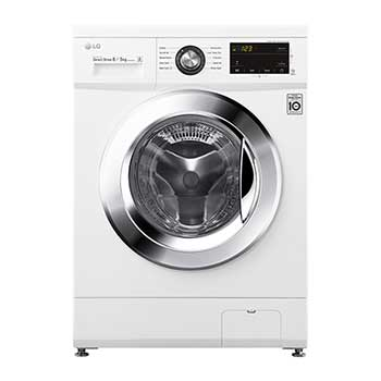 LG Direc Drive™ FWMT85WE 8kg / 5kg, 1400rpm Washer Dryer - White1