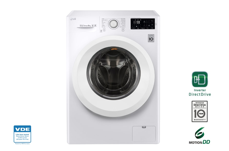 Lg Fh4u2vfn3 Turbowash Washing Machines 9kg Turbowash 6