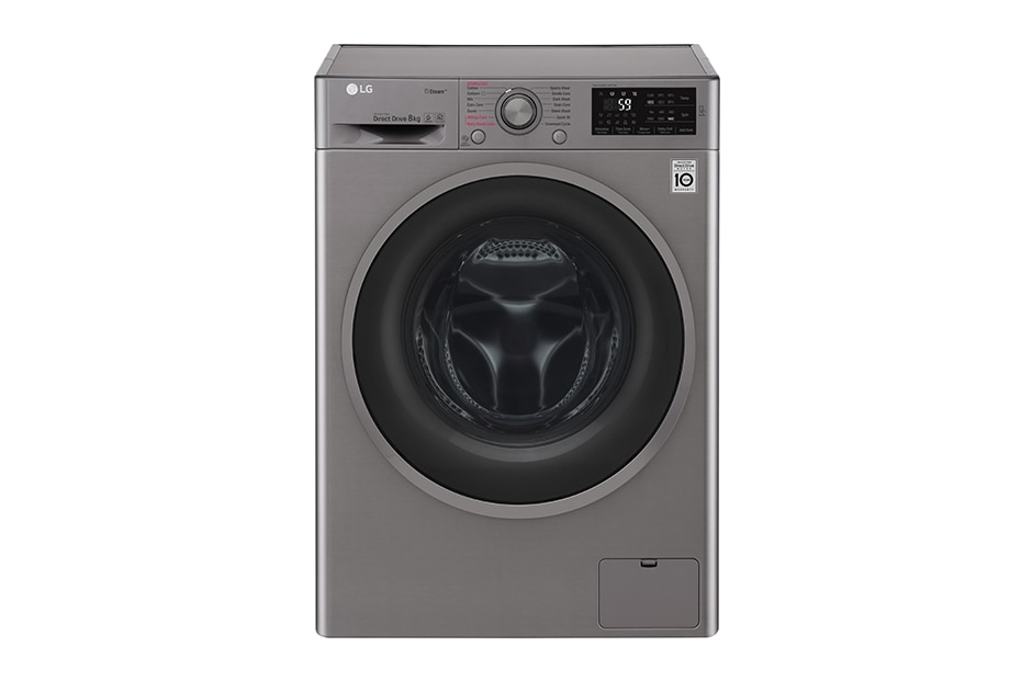 Lg 8 kg washing machine with steam technology and smart - Washing machine new technology ...