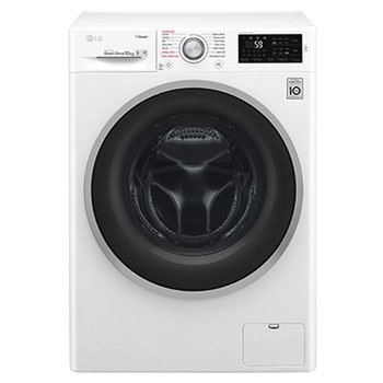 LG Steam™ F4J6JY1W 10Kg 1400 Spin Washing Machine - White1